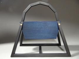V-Styl Donker blauw Lectuurbak