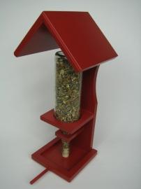 Vogelvoerfleshouder Rood