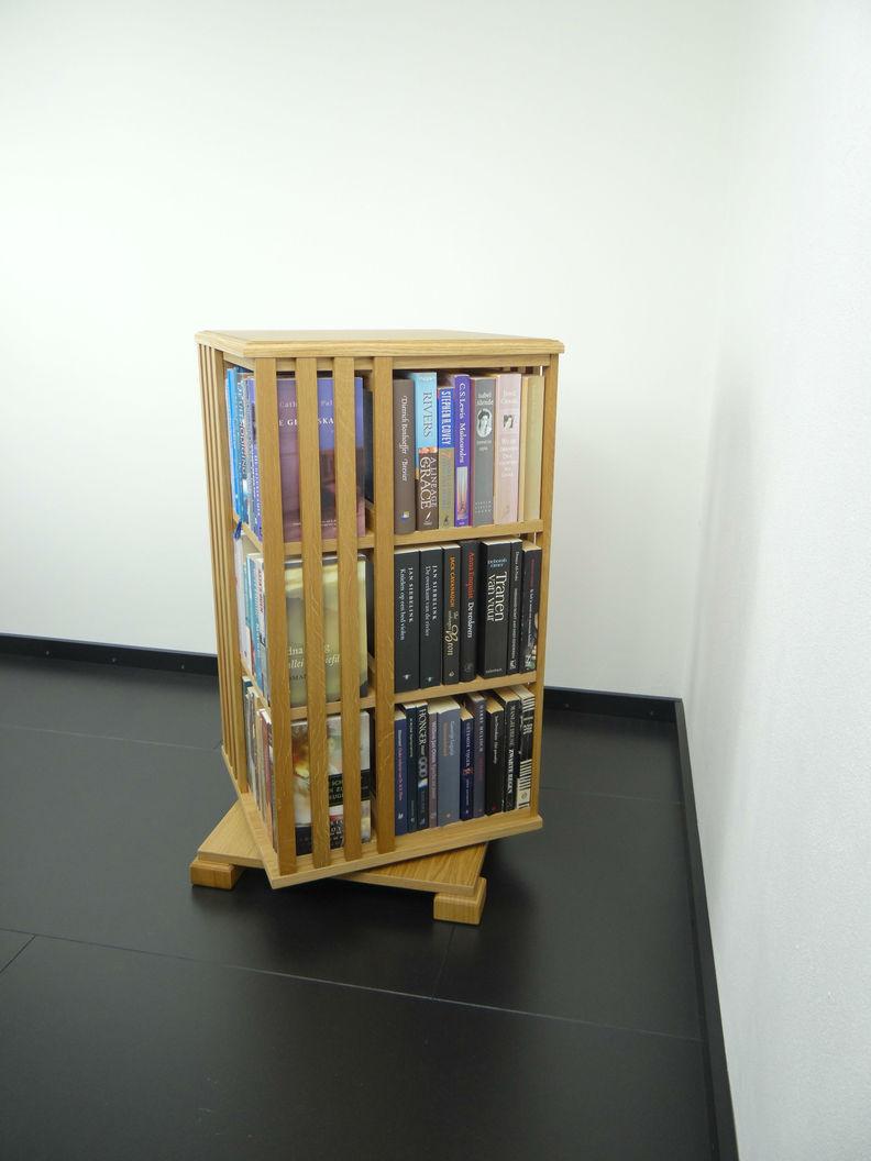 Draaibare boekenkast