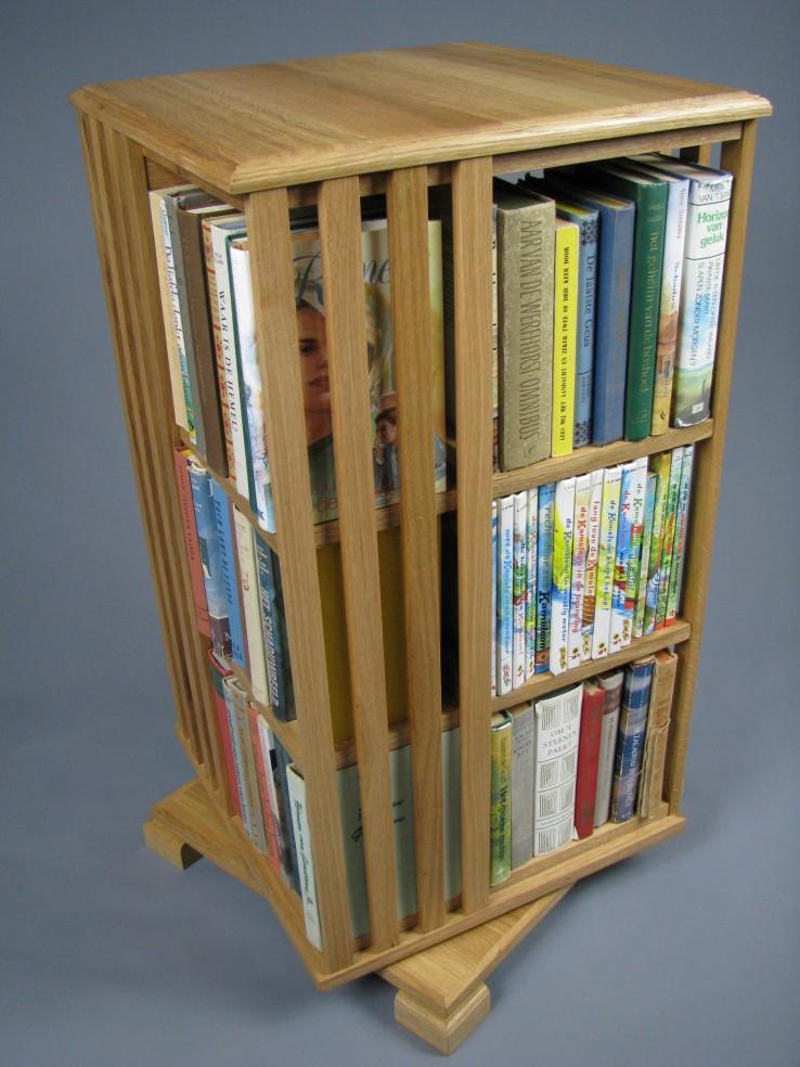 Eiken boekencarroussel te koop.jpg