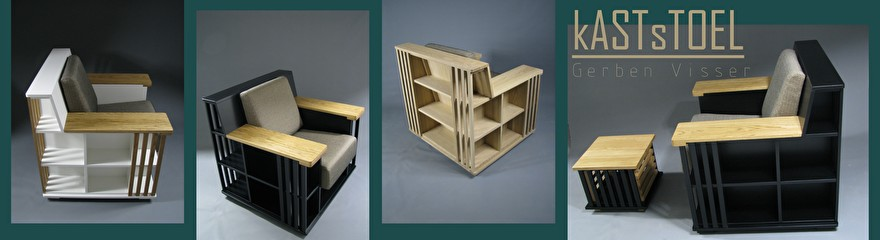 bookchair boekenstoel