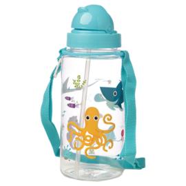 Drinkfles - Dierentuin / waterdieren - oceaan