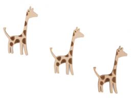 Cadeaulabel houten Giraffe- Jessica Nielsen - pstk
