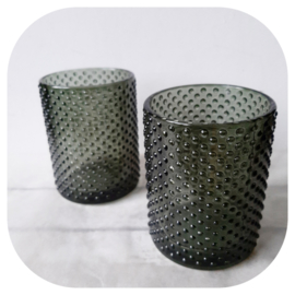 Waxinelichthouder green glas | pstk