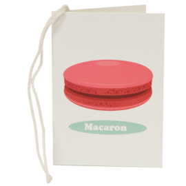 Cadeaukaartje / macaron