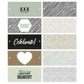 Labels combi mix special moments | 5 stk