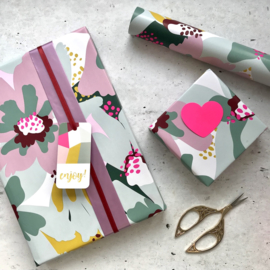 Cadeaukaartje / floral statement / for you / p stk