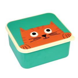 Lunchtrommel / broodtrommel - chester de kat