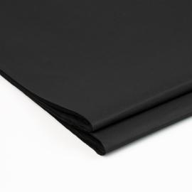 Zijdevloeipapier | zwart | 50x70cm | 5 stuk