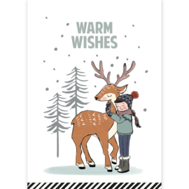 Kerstkaart | Warm Wishes