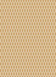Vloeipapier - tissuepapier - little oak leaves    50x70cm   5stk