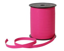 Krullint Magenta - roze | papier lint | 7mm | 5m