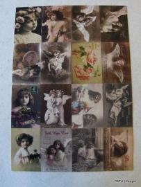 Stickervel / Nostalgisch romantisch / FI