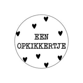 Stickers - sluitzegels / Een Opkikkertje /20stk