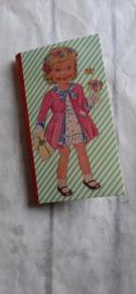 Sticky notes bookmark - Dress up girl