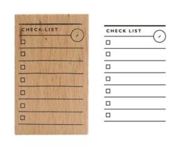 Stempel - checklist