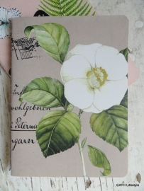 Notebook / Vintage / Bloem