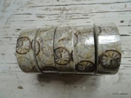 Masking tape / Wijzerplaat - clock