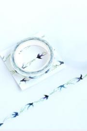 Masking - Washi tape / zwaluw - swallow