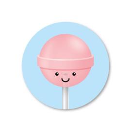 Sticker | lolly roze | pstk