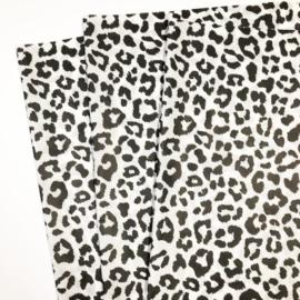 Vloeipapier - tissuepapier | Leopard | 50x75cm | 5 stuks