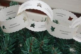 EI 2002 Papieren slinger Merry Christmas
