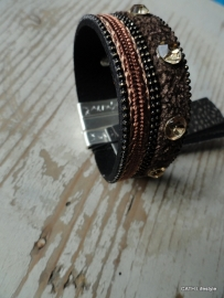Armband met steentjes macco