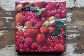 TI Servetten delicious berries 25x25