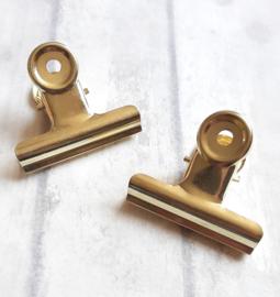 Klem - goud | 5cm | pstk