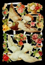 ME 7092 Poezie plaatjes duiven
