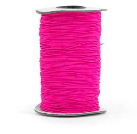 Elastisch koord - neon roze | 1mm | 5m