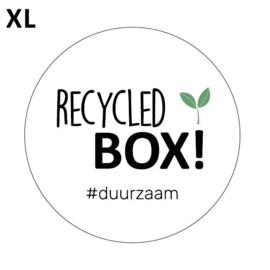 Sticker sluitzegel  - Recycled box | 65mm | 20stk