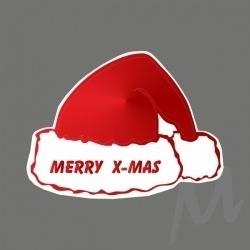 Sticker Merry x-mas | kerstmuts / 20stk