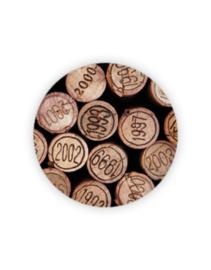 Sticker rond - wijnkurken | 35mm | 10stk
