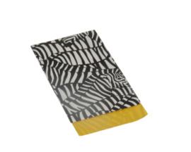 Kado zakje | zebra | 7x13cm | 5stk