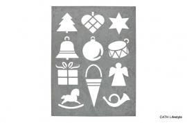 Sjabloon / Zinken kerst
