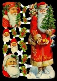 ME 7219 Poezie plaatjes kertman kerstboom
