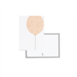 Kaart | ballon - incl envelop