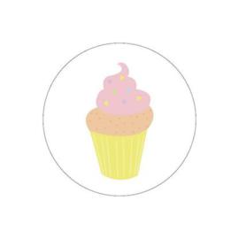 Sticker sluitzegel | ijsbakje | 15stuks