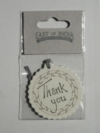 EI 2365 Label Thank You