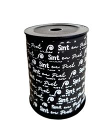 Krullint - Sint en Piet   zwartwit   10mm   5m