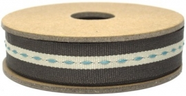 EI 3160 Band 3 meter spoel bruin met stiksel in het midden