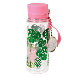 Waterfles  / Tropical Palm / 600ml