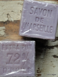 Zeep blok | Savon de Marseille | lavendel blok 400 gram