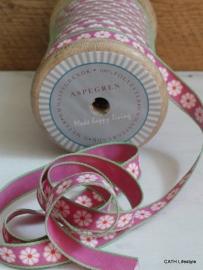 Band / roze daisy / Aspegren Denmark