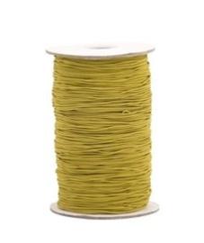 Elastisch koord - oker geel| 1mm | 5m