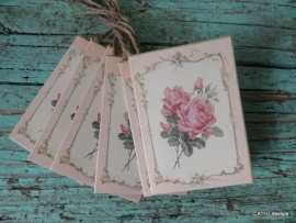 Cadeaukaartjes Roses / p stk