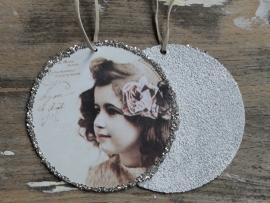 Hanger rond Vintage Girl