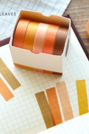 Masking tape / Autum leaf / 5stk