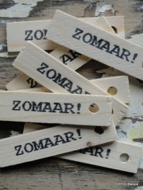 "PZ Label ""Zomaar"""